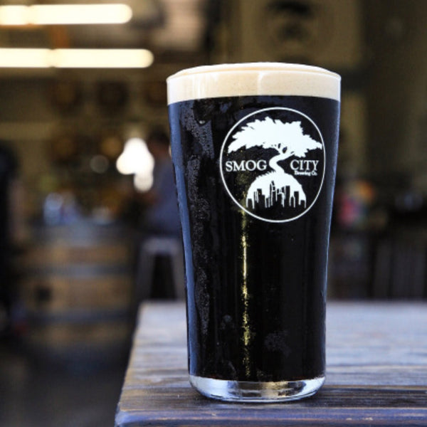 LOGO TAPERED PINT GLASS