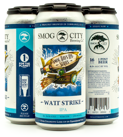 Watt Strike IPA (Smog Days IPA Series) CA Beer Shipping