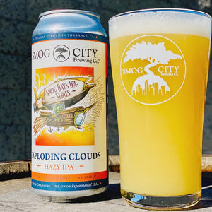 Exploding Clouds Hazy IPA 4-Pack Cans (CA Beer Shipping)