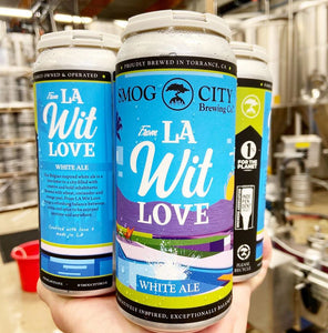 From LA Wit Love Belgian Style White Ale (CA Beer Shipping)