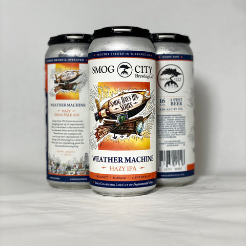 Weather Machine Hazy IPA 4-Pack Cans (CA Statewide Shipping)