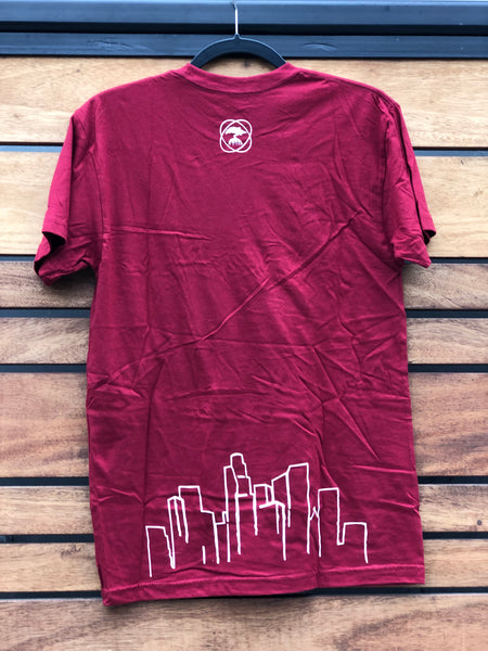 OFFICIAL TAPROOM T SHIRT-RED