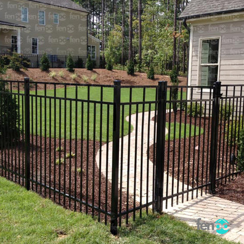 Carolina Aluminum Pre-Assembled Fence Panel