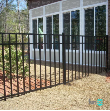Fenpo - Long Islander 6' Aluminum Fence Bundle