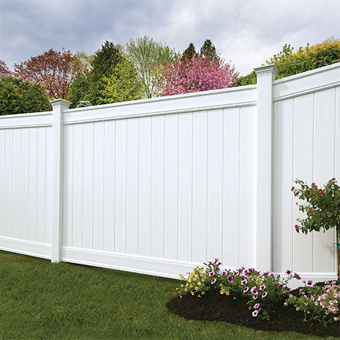 Classic Privacy Vinyl Fence Panel