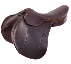 Pariani Jump saddle, side view. www.arkaequipe.com