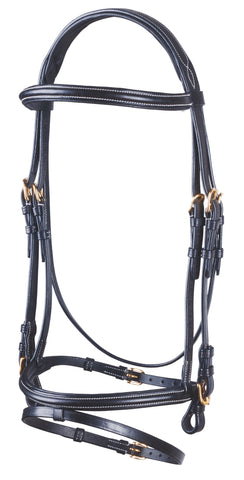 Pariani Barrage Bridle with reins