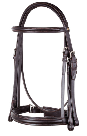Pariani Weymouth Crank Bridle with double reins