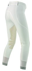 rear view Dainese Ladies Breeches white