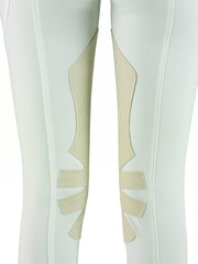 Dainese Ladies Breeches white grip system detail