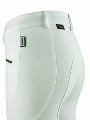 Dainese Ladies Breeches white top rear detail