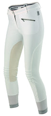 front view Dainese Ladies Breeches white arkaequipe.com