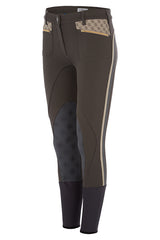 Accademia Italiana Bold Limited Grip Breeches Cacao front view