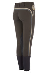 Accademia Italiana Bold Limited Grip Breeches Cacao rear view