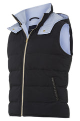 Dada Sport Baloubet Mens Body warmer Navy front view