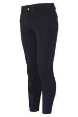Dada Sport Carlo Mens Breeches Navy front view