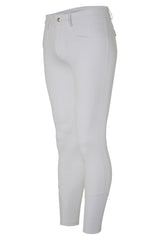 Dada Sport Carlo Mens Breeches White front view