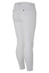 Dada Sport Carlo Mens Breeches White rear view