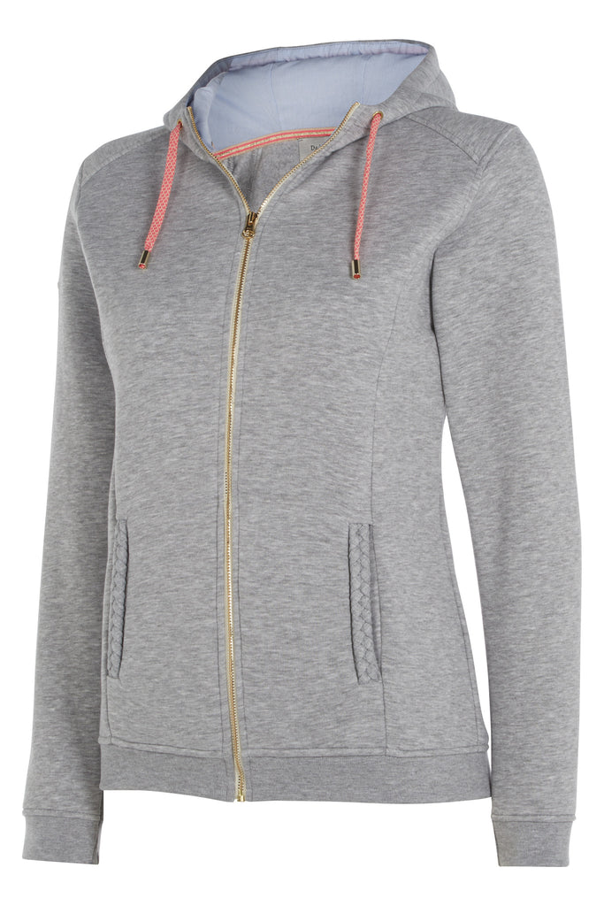 Dada Sport Cornet Hoody Sweater Grey front view