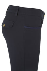 Dada Sport Corradina Breeches Navy side view