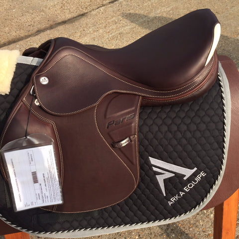 Prestige Paris New D Saddle - Ex Display - Tobacco