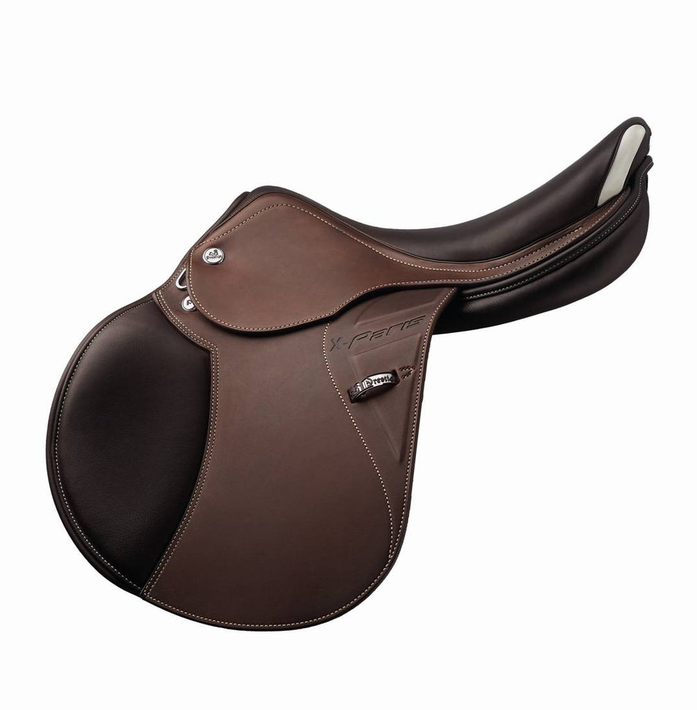 Prestige X Paris saddle tobacco brown