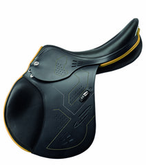 Prestige X-Breath Black and yellow profile view