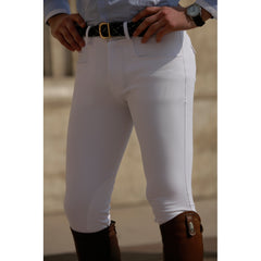 Dada Sport Carlo Mens Breeches White front