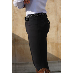 Dada Sport Carlo Mens Breeches Navy side view