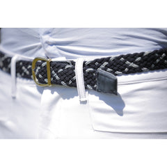 Dada Sport Carlo Mens Breeches White belt loop pocket detail