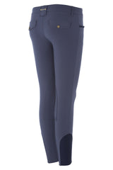 Dada Sport Corradina Breeches Blue Grey rear view