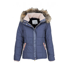 Dada Sport Quismy Down Jacket NEW Blue Grey front view