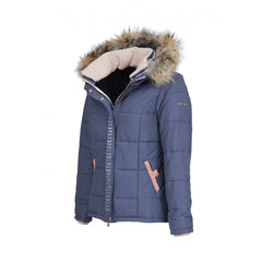 Dada Sport Quismy Down Jacket NEW Blue Grey front 3/4 view