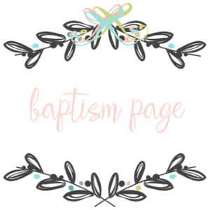 Add On Page - Baptism