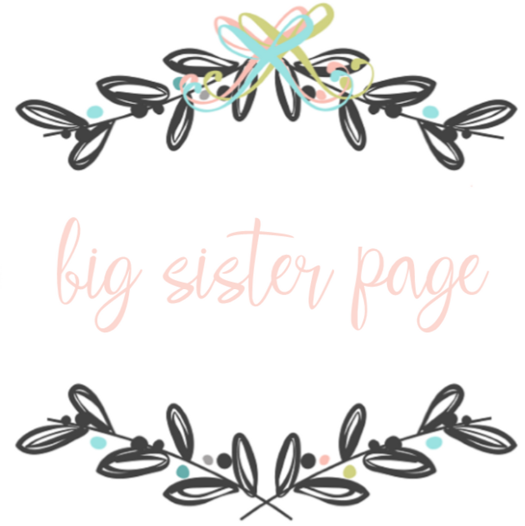 Add On Page - Big Sister Page