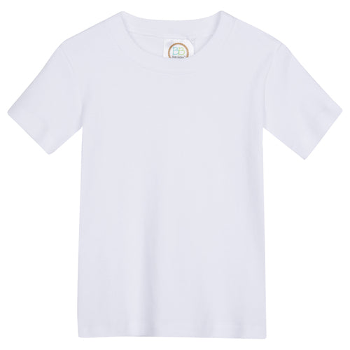 Boy Short Sleeve Plain Shirt