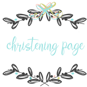 Add On Page - Christening Page