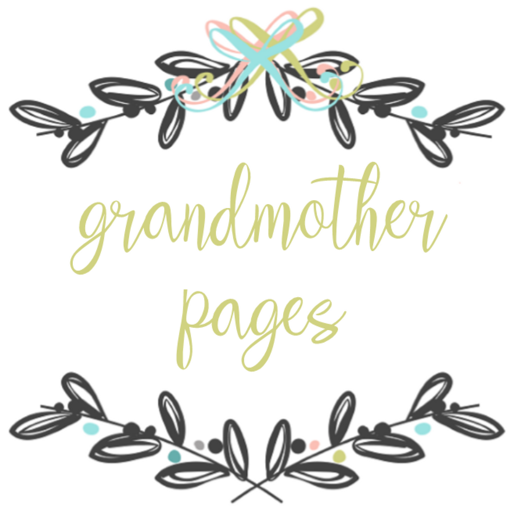 Add On Page - My Grandmother