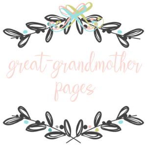 Add On Page - My Great-Grandmother