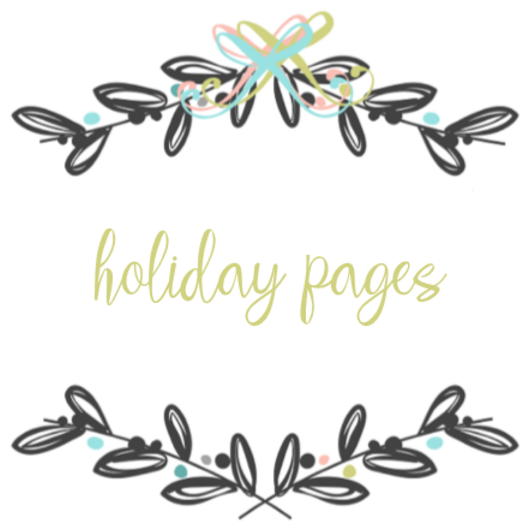Add On Page - Holiday Bundle Pages