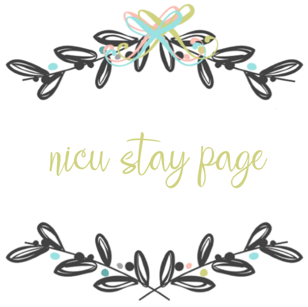 Add On Page - NICU Stay Page