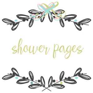 Add On Page - Baby Book Shower Pages