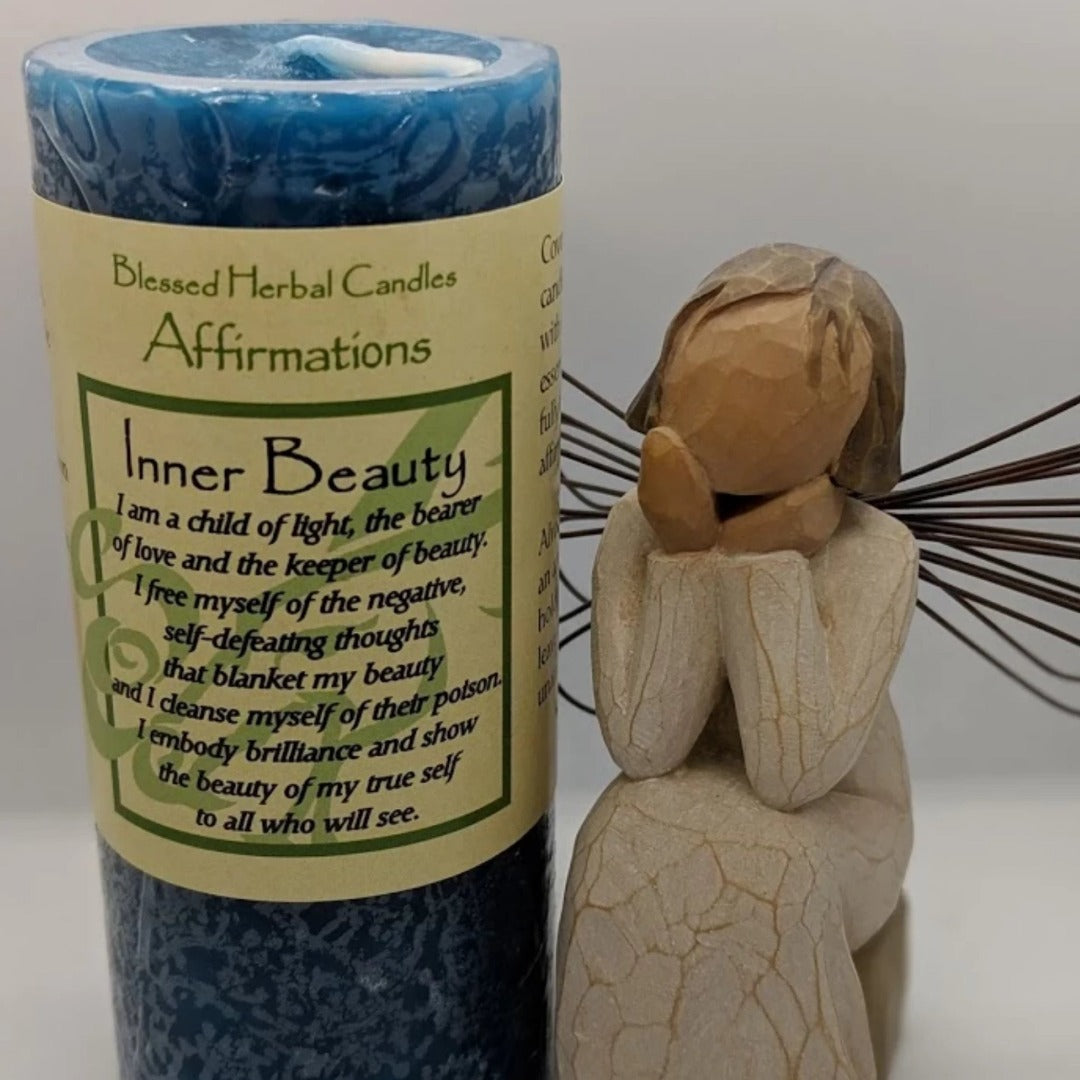 Inner Beauty Affirmation Candle