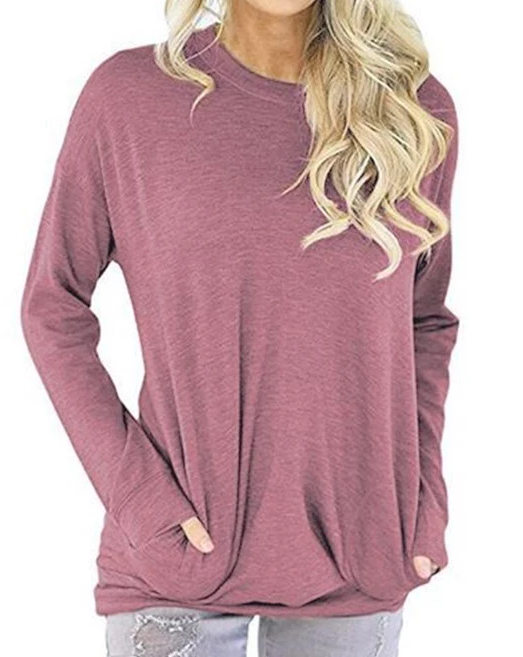 Long Sleeve Casual Pocket Shirt
