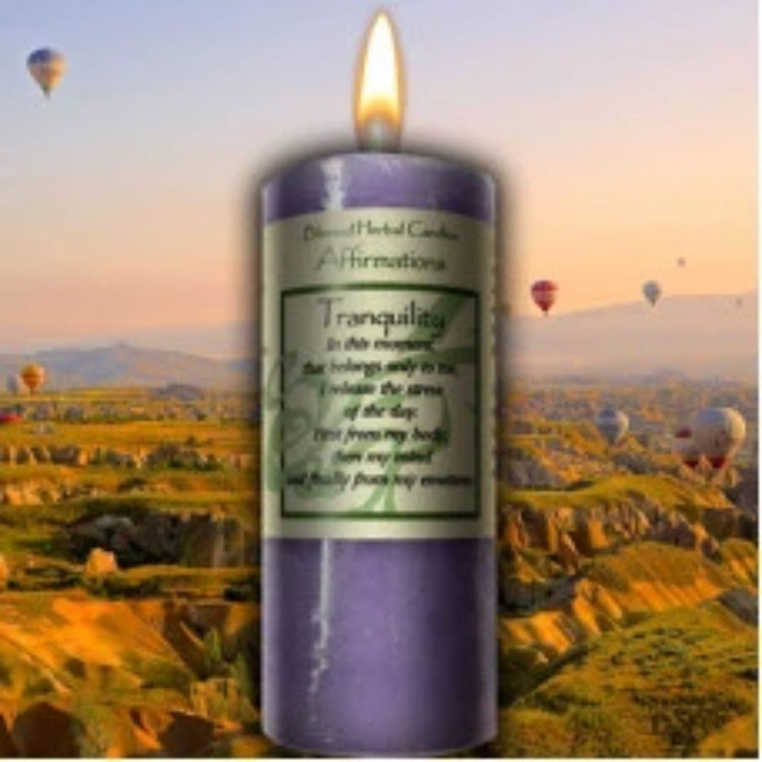 Tranquility Affirmation Candle