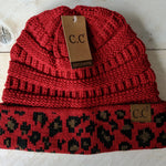 C.C Beanies Traditional or Messy Bun
