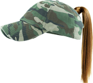 Pony Tail Ball Cap