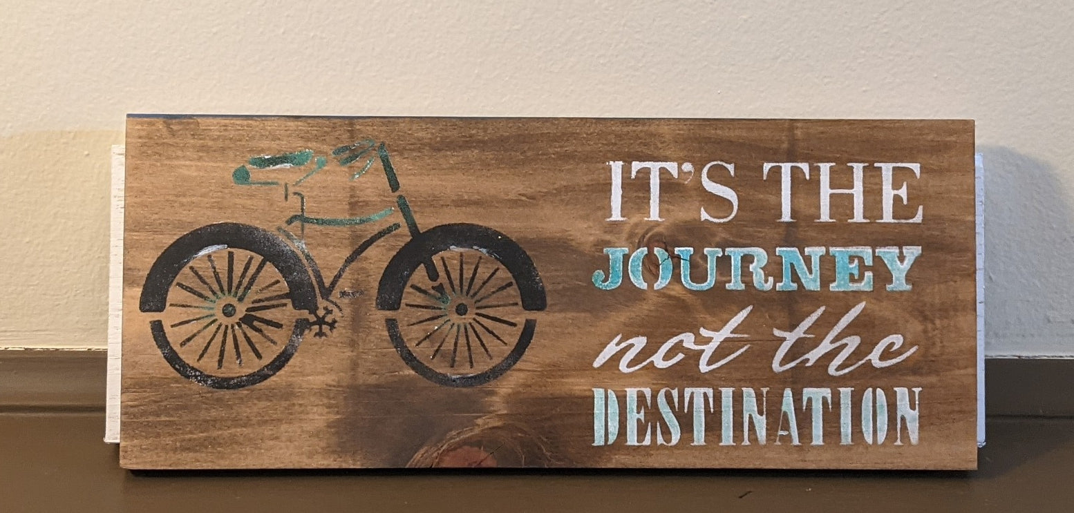 Handmade Double Sided Signs