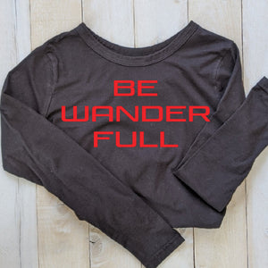 "T-Shirt ""Be Wander Full"""