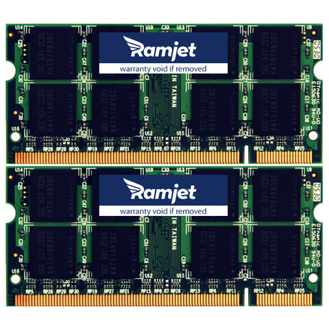 Ramjet.comMacBook Memory Model 5.2 (DDR2-667Mhz Version)